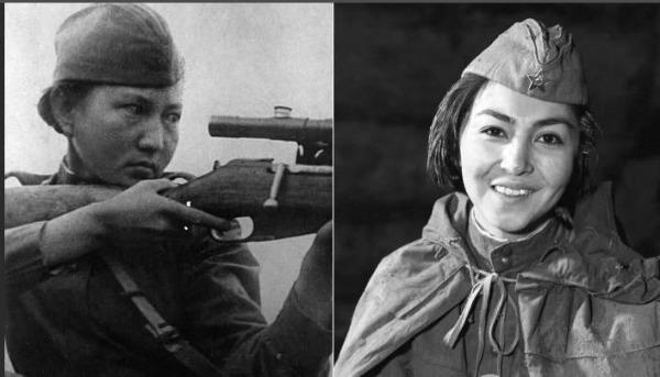 снайпер, герой СССР