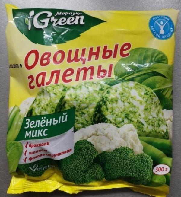 """Овощные галеты """"Морозко"""""""