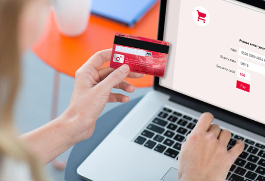 Введение данных с банковской карты в ПК