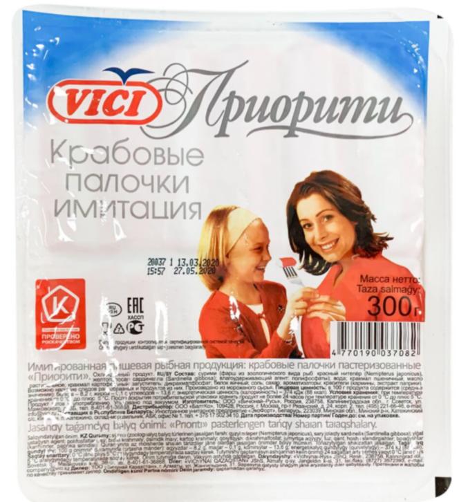 Крабовые палочки Vici «Приорити»