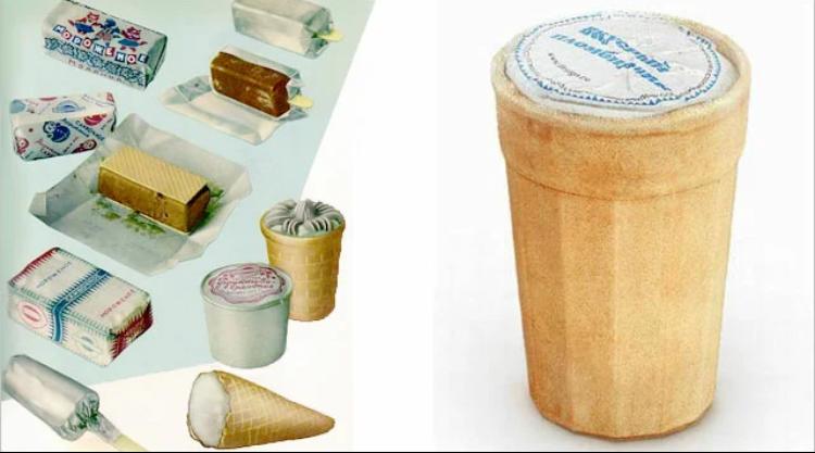 Виды советского мороженого