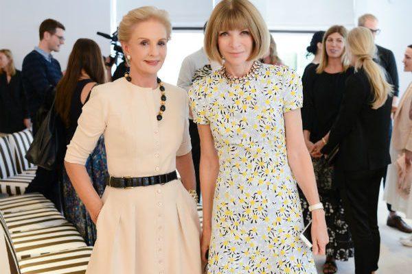 Две женщины в летних платьях
