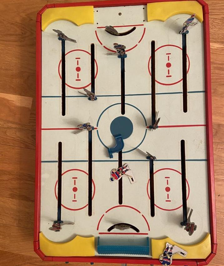 Советская настольная игра хоккей