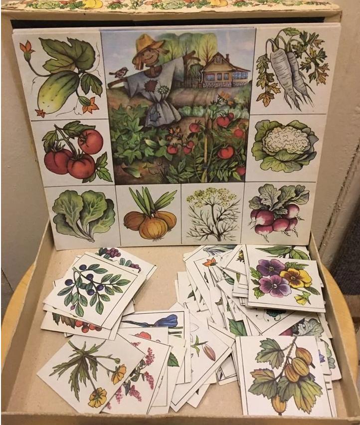 Советские карточки Зеленый друг
