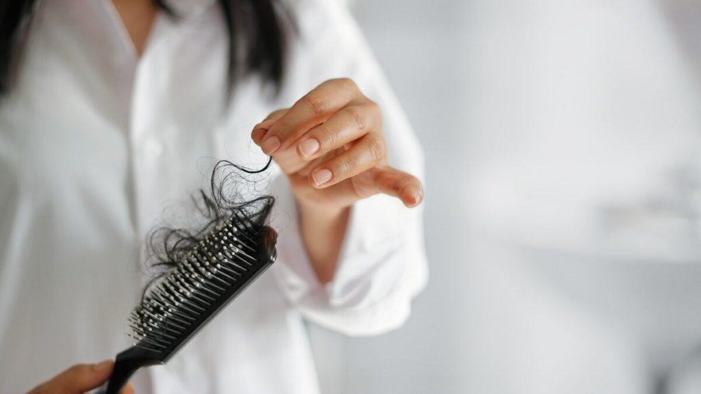 Волосы на счетке