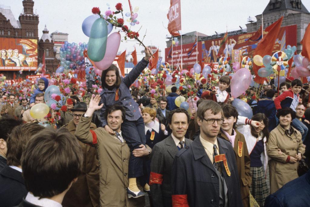 Парад на первое мая в СССР
