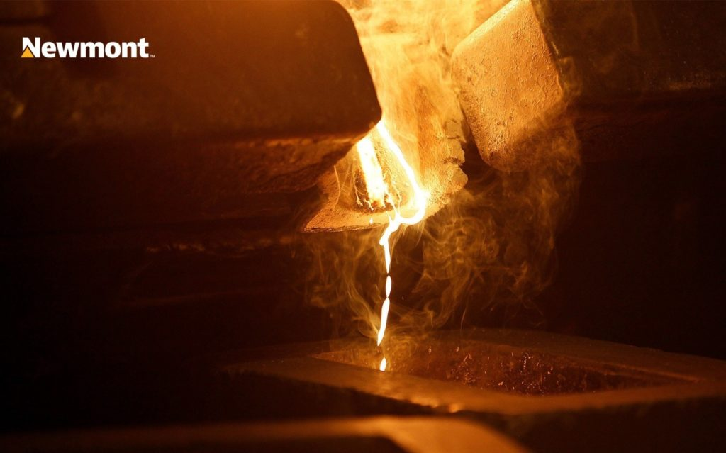 Золотодобыча в Newmont Corporation