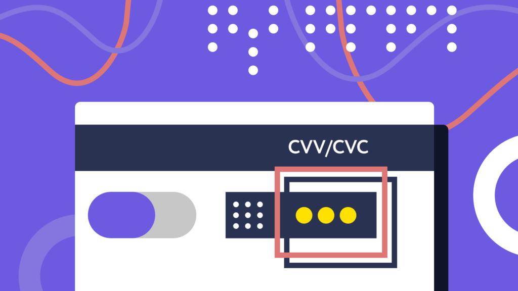 Схема карты CVV