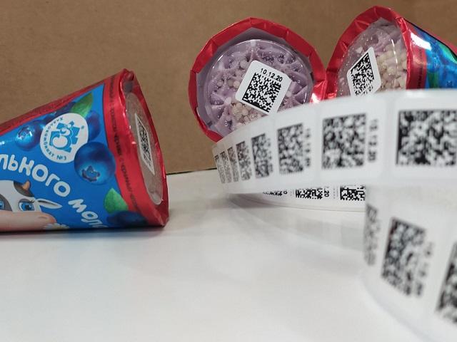 Мороженое и маркировочные коды