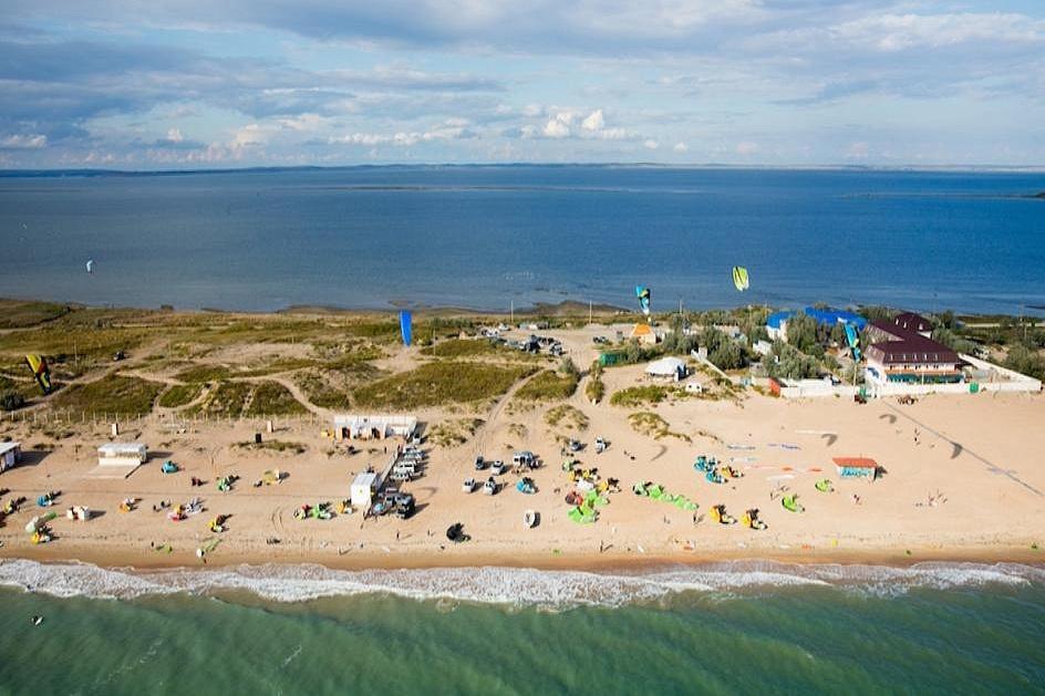 Пляж Станицы Благовещенской