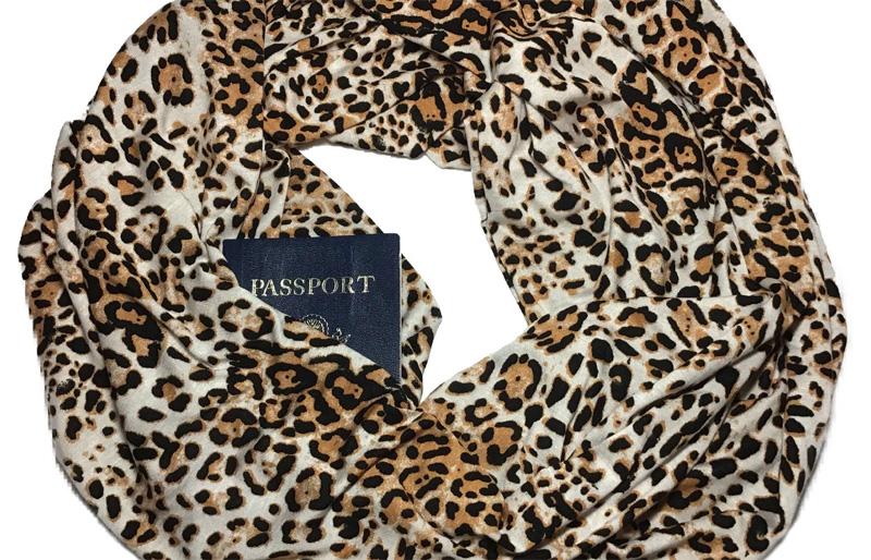 Паспорт в шарфике