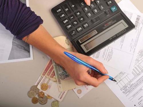 Калькулятор, заполнение документа, деньги