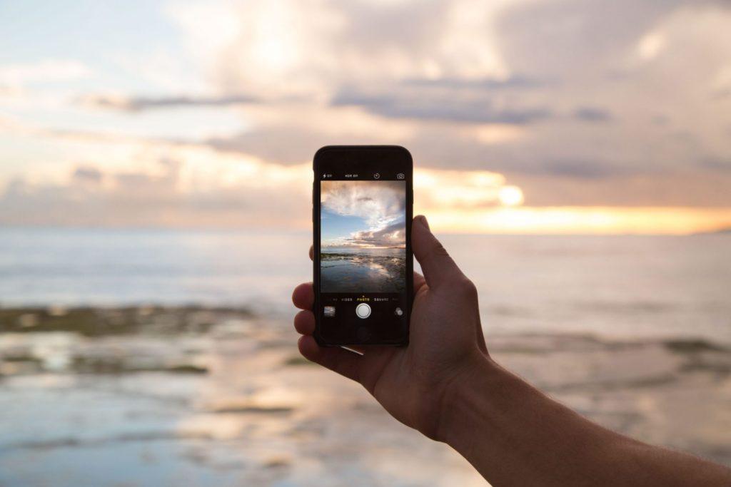 Фото моря на смартфон