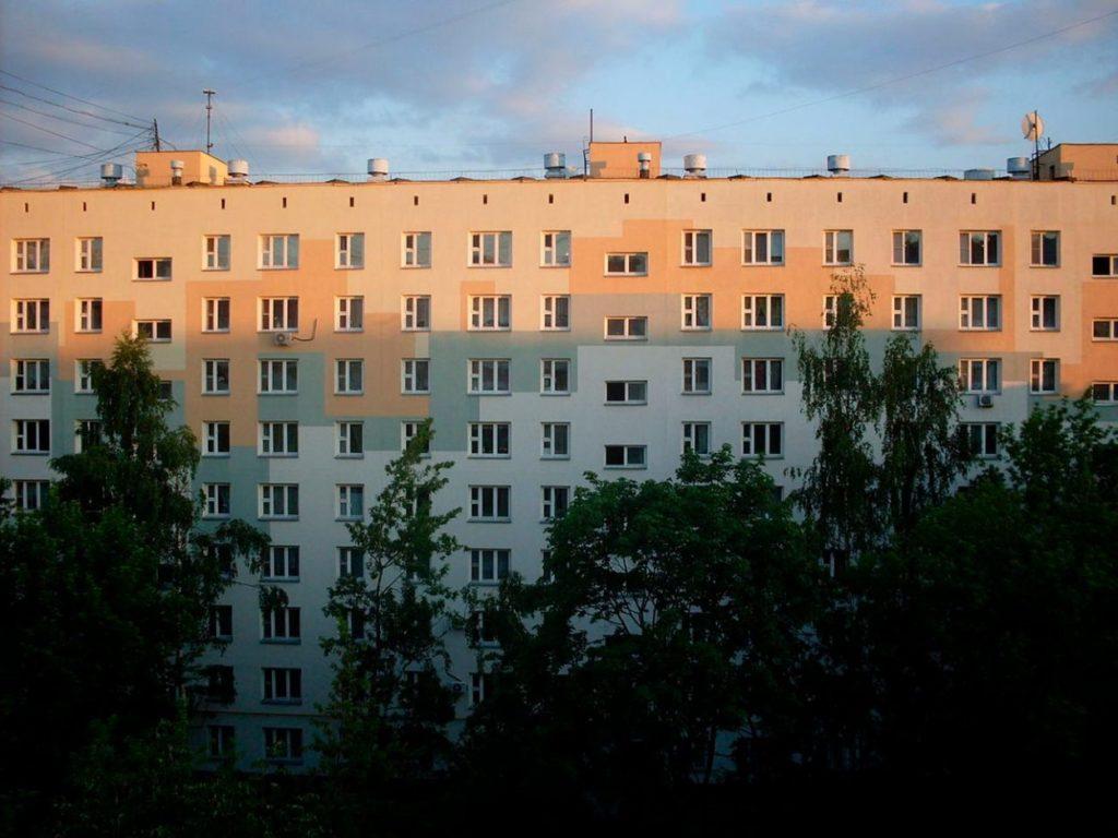 Десятиэтажный дом