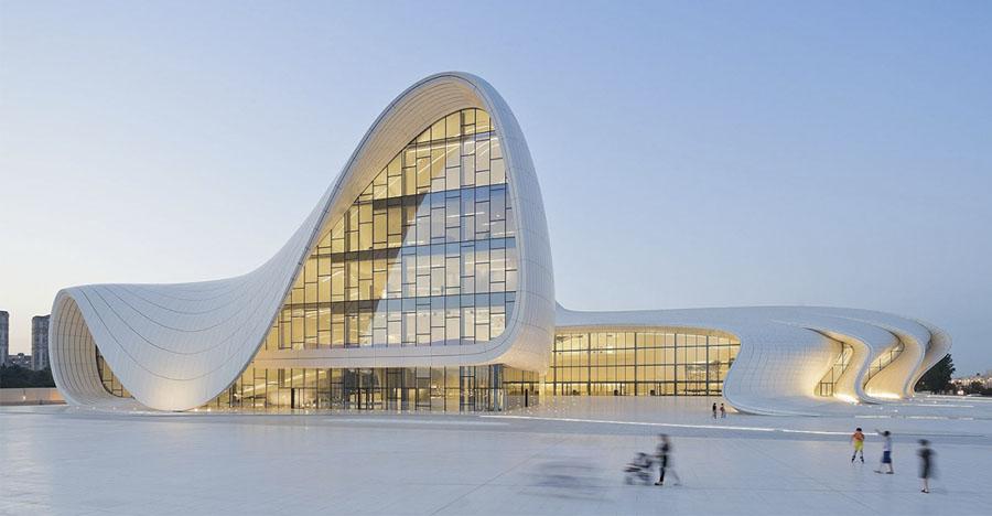 """""""Гейдар Алиев"""" центр в Баку"""