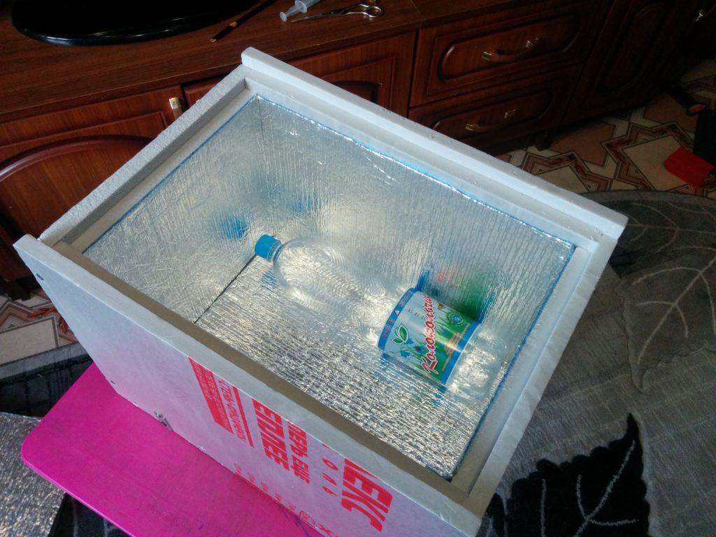 Самодельный контейнер-холодильник