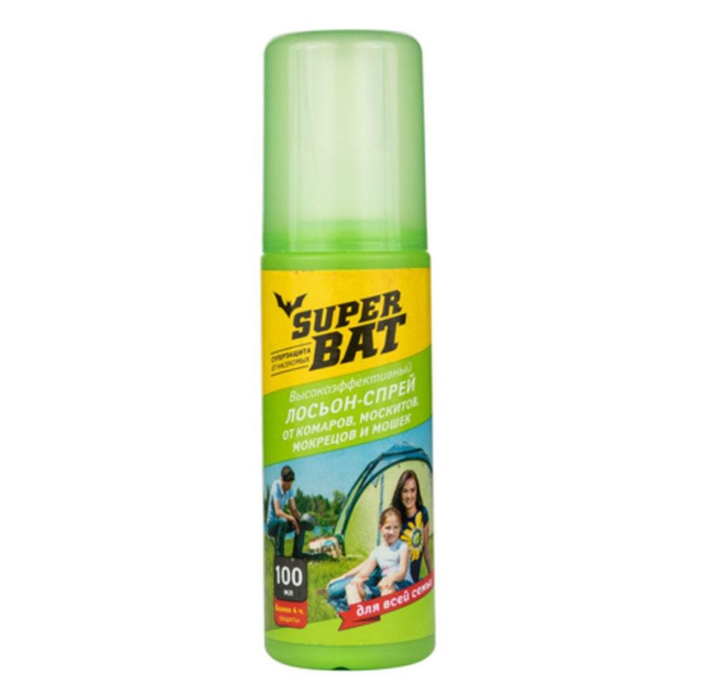 Спрей от комаров Super BAT