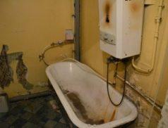 Старая советская ванная