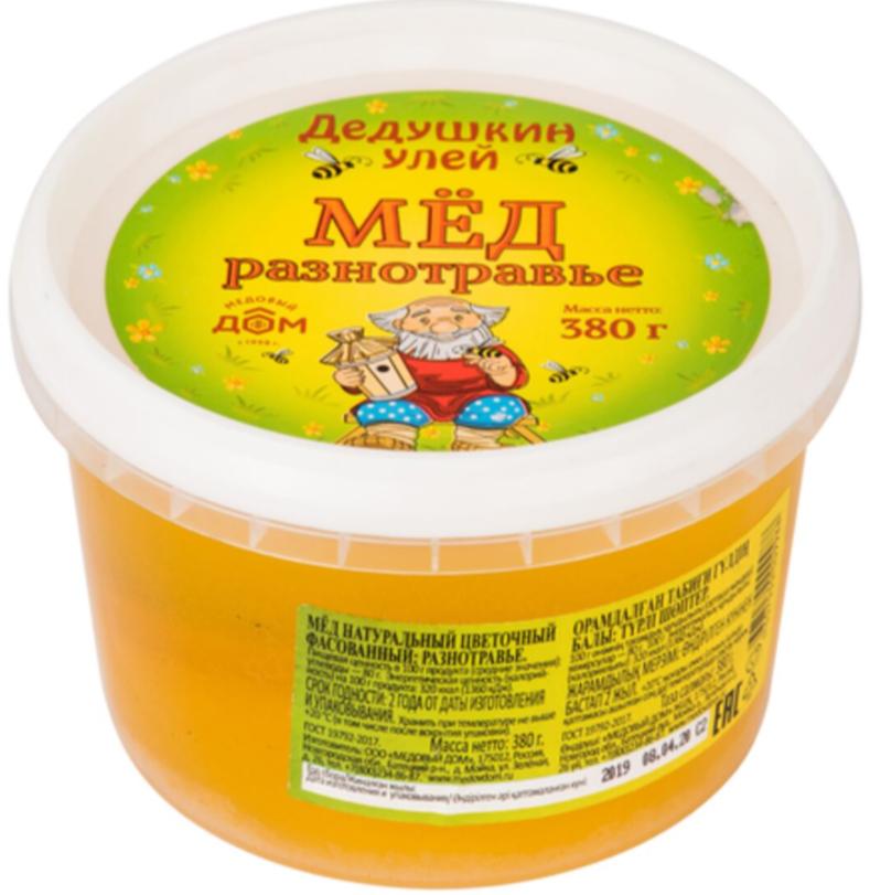 «Дедушкин улей» цветочный мед