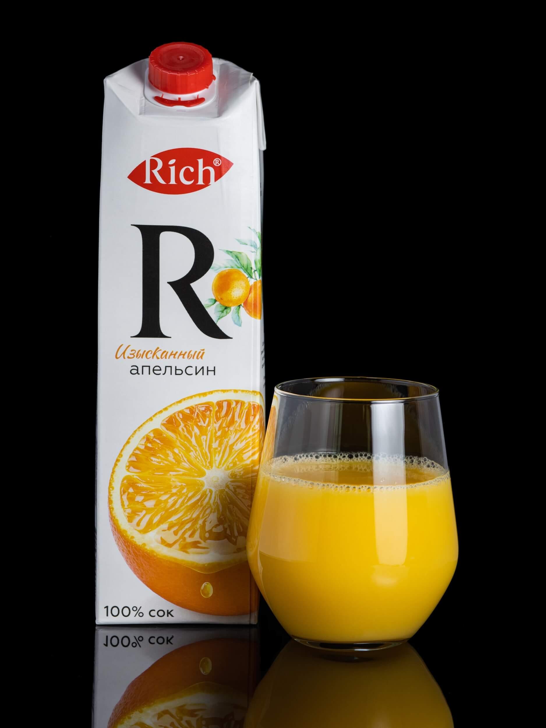 Апельсиновый сок RICH