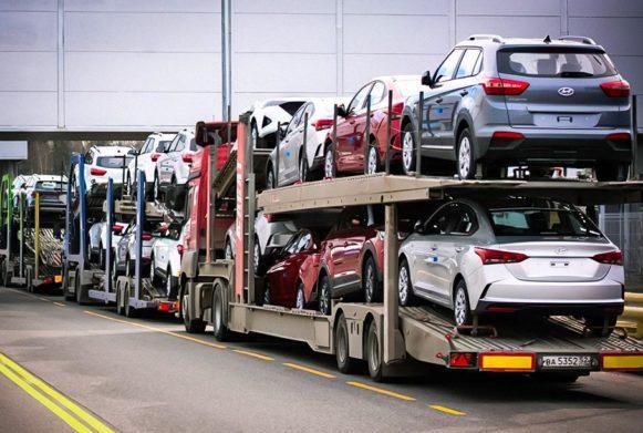 Транспортировка легковых транспортных средств