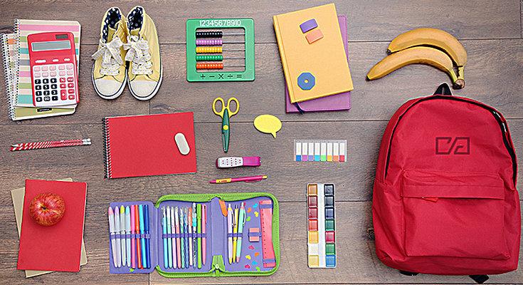 Канцелярия и вещи для школе