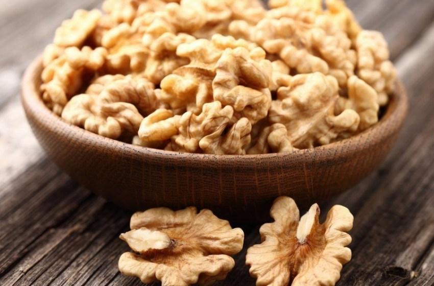 Чищенные грецкие орехи