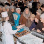 Очередь в советском магазине