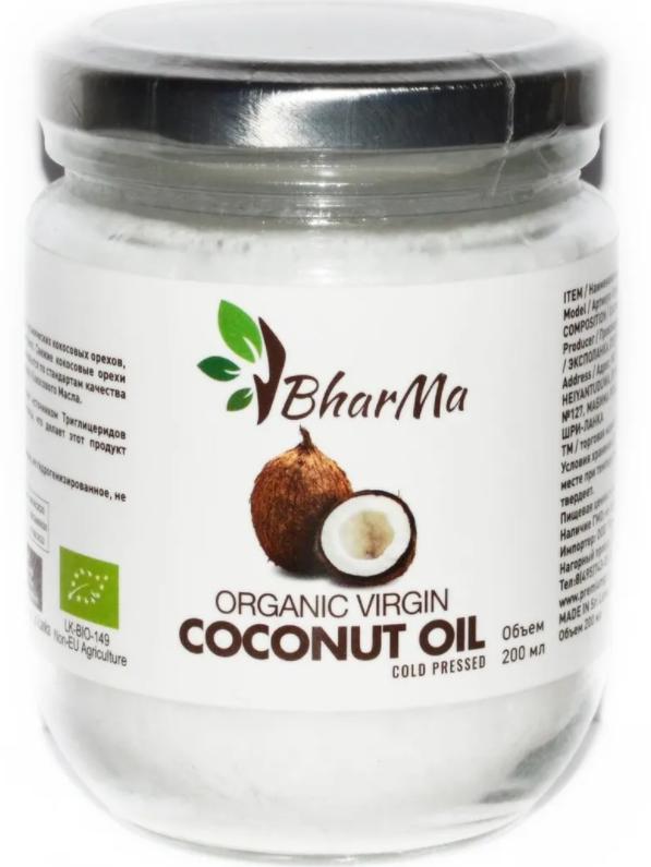 Кокосовое масло BharMa