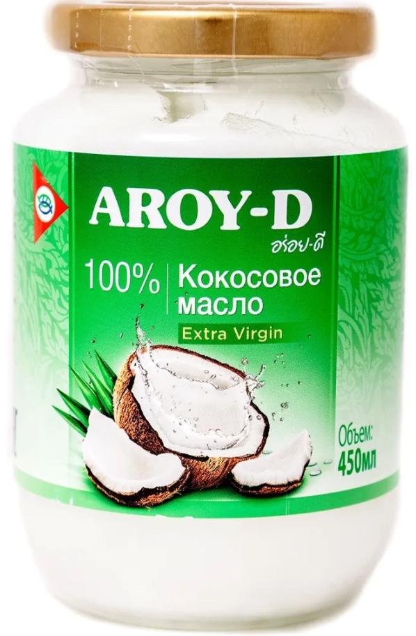 Рафинированное кокосовое масло Aroy-D