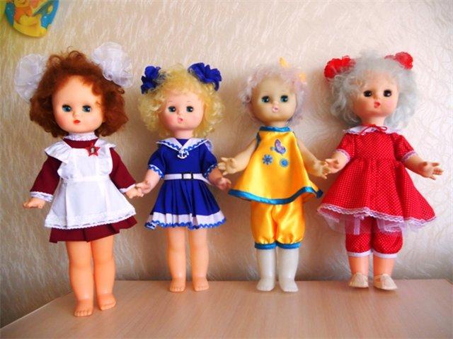 Куклы СССР завода 8 марта