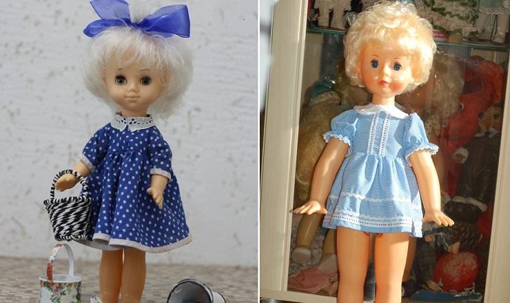 Советские куклы Нина и Снежана