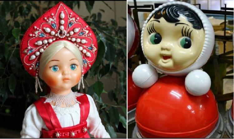 Куклы Красногородочка и Ванька-Встанька