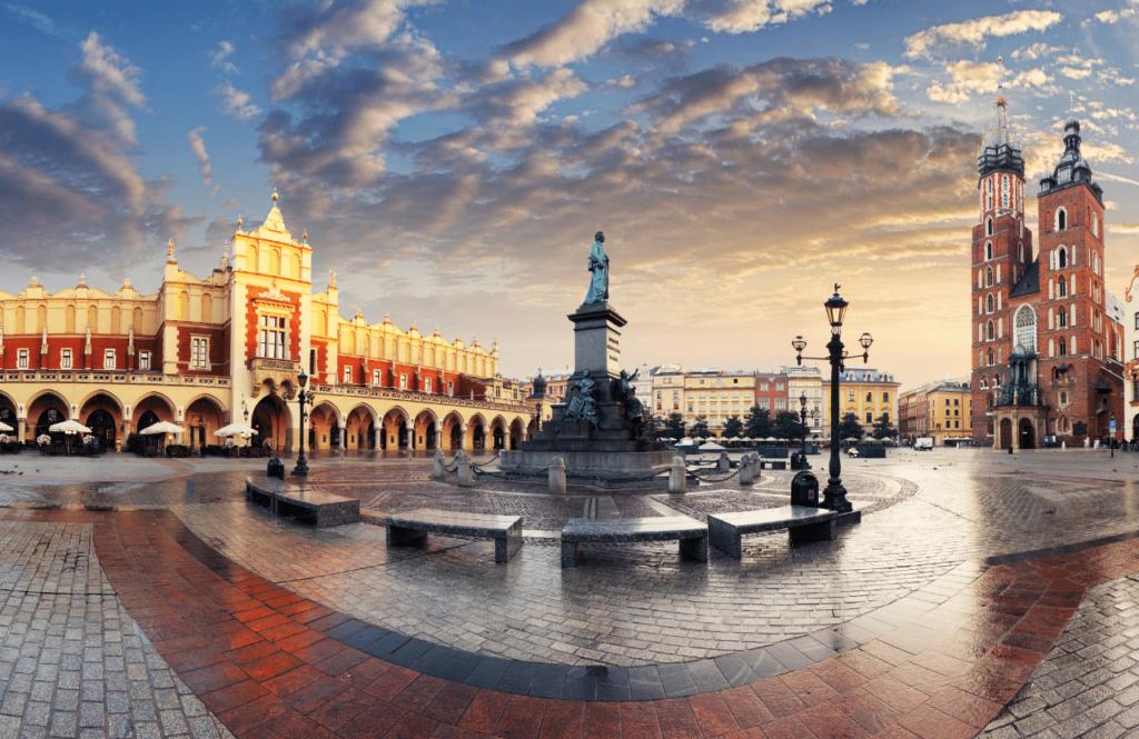 Площадь в Польше