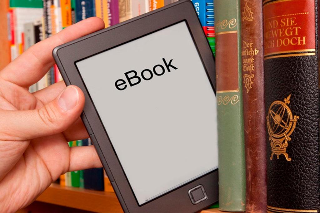 Электронная книга на полке