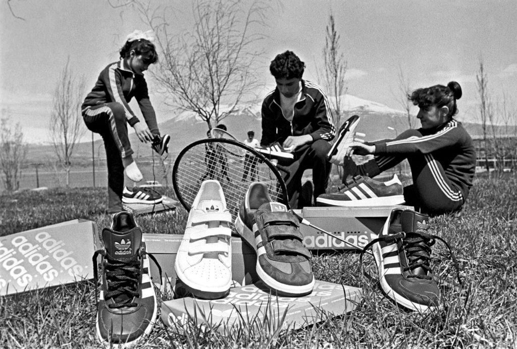 Советские спортсмены и обувь