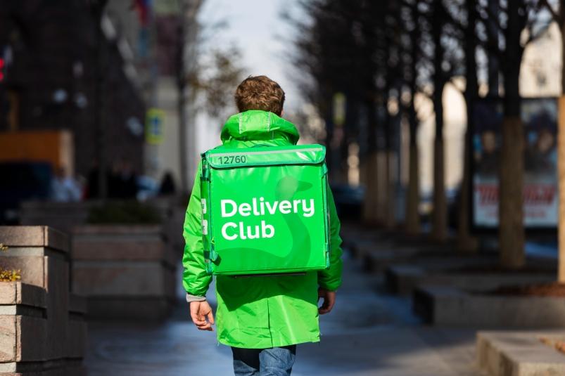 курьер Delivery-club