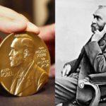Медаль Нобеля и портрет