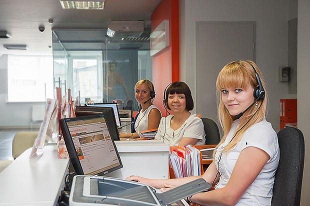 Операторы в офисе
