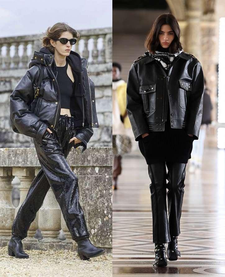 Осенние образы с курткой