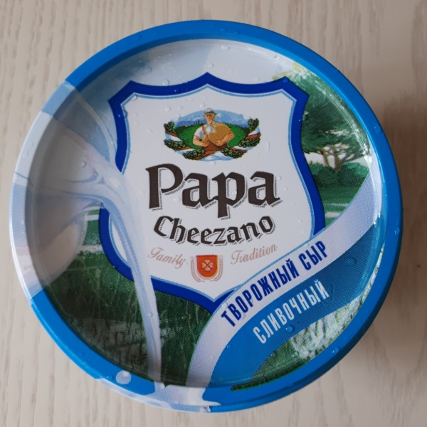 Творожный сыр Papa Cheezano